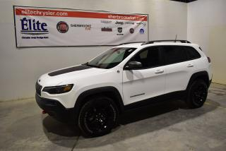 Used 2019 Jeep Cherokee Trail Hawk 4x4 Bluetooth+démarreur/distance for sale in Sherbrooke, QC
