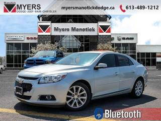 Used 2015 Chevrolet Malibu LT  - Bluetooth -  SiriusXM - $102 B/W for sale in Ottawa, ON