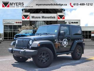 Used 2016 Jeep Wrangler Willys Wheeler  - Bluetooth - $204 B/W for sale in Ottawa, ON