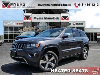 Used 2015 Jeep Grand Cherokee LIMITED  - Leather Seats - $220 B/W for sale in Ottawa, ON