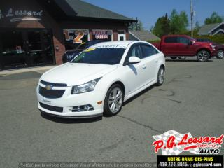 Used 2012 Chevrolet Cruze LT Turbo avec 1SB for sale in St-Prosper, QC