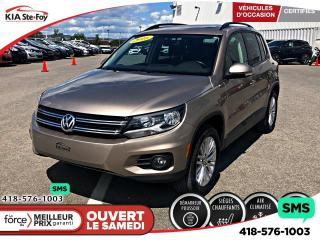 Used 2016 Volkswagen Tiguan Special Edition (A6) for sale in Québec, QC