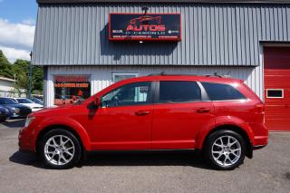 Used 2013 Dodge Journey RALLYE R/T AWD 7 PASS CUIR TOIT GPS TV DVD 125 830 for sale in Lévis, QC