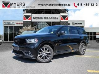 Used 2018 Dodge Durango GT  - Leather Seats -  Bluetooth - $243 B/W for sale in Ottawa, ON