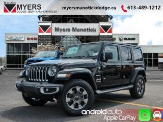 New 2019 Jeep Wrangler Unlimited Sahara  -  Android Auto - $308 B/W for sale in Ottawa, ON