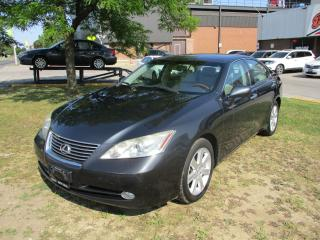 Used 2008 Lexus ES 350 ~LEATHER~HEATED & COOLING SEATS~SUNROOF~CERTIFIED for sale in Toronto, ON