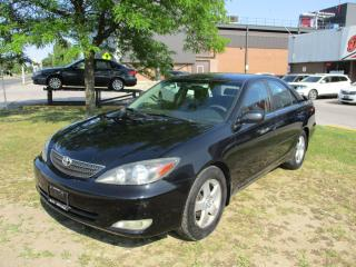 Used 2003 Toyota Camry SE~POWER OPTIONS~CERTIFIED for sale in Toronto, ON