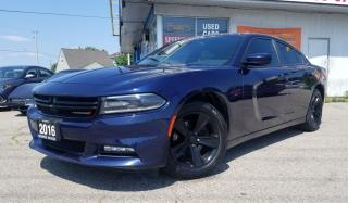 Used 2016 Dodge Charger SXT Navi, Sunroof, No Accidents, Certified for sale in Mississauga, ON