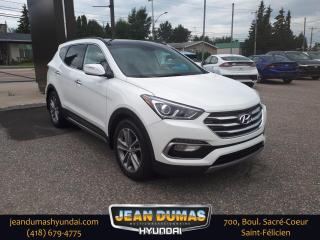 Used 2018 Hyundai Santa Fe Sport 2.0T Limited TI for sale in St-Félicien, QC