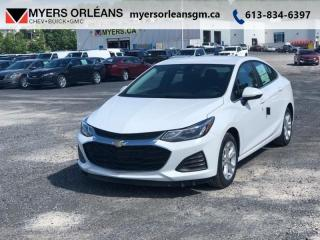 New 2019 Chevrolet Cruze LT  - Heated Seats - SIriusXM for sale in Orleans, ON