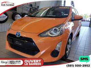 Used 2015 Toyota Prius c *BASE*BLUETOOTH*CRUISE*HYBRID*AIR*LECTEUR CD* for sale in Québec, QC