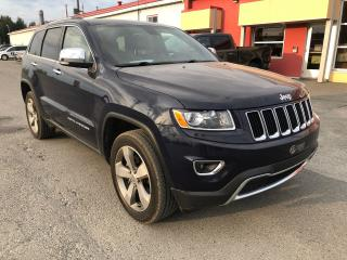 Used 2015 Jeep Grand Cherokee Limited for sale in Val-D'or, QC