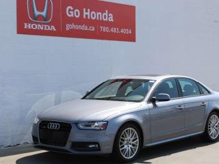 Used 2015 Audi A4 Komfort Plus AWD for sale in Edmonton, AB