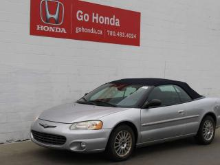 Used 2002 Chrysler Sebring Limited Convertible for sale in Edmonton, AB