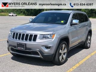 Used 2015 Jeep Grand Cherokee Limited for sale in Orleans, ON