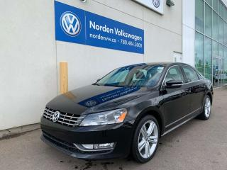 Used 2014 Volkswagen Passat 2.0L TDI HIGHLINE DSG W/ SPORT PKG for sale in Edmonton, AB