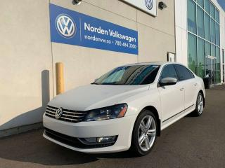 Used 2013 Volkswagen Passat 2.0L TDI HIGHLINE W/ SPORT PKG / NAVI for sale in Edmonton, AB