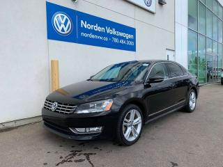 Used 2012 Volkswagen Passat 2.0L TDI HIGHLINE DSG W/ SPORT PKG - LEATHER / SUNROOF for sale in Edmonton, AB