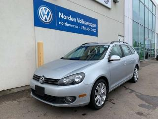 Used 2013 Volkswagen Golf Wagon 2.0L TDI HIGHLINE DIESEL WAGON! - LEATHER / AUTO for sale in Edmonton, AB