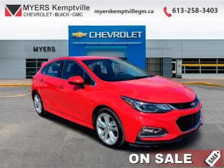 Used 2018 Chevrolet Cruze Premier  - Certified - Leather Seats for sale in Kemptville, ON