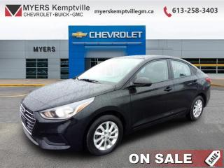 Used 2019 Hyundai Accent Preferred AT    lane assist,adaptive cruise control and side assist !-  Power Windows apple and android car play ! for sale in Kemptville, ON