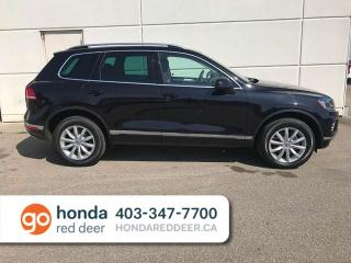 Used 2015 Volkswagen Touareg Sportline AWD Back Up Camera Heated Seats for sale in Red Deer, AB