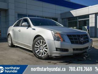 Used 2011 Cadillac CTS Sedan CTS/LEATHER/PANOSUNROOF/HEATEDSEATS for sale in Edmonton, AB