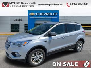 Used 2018 Ford Escape SEL   - Leather Seats   SYNC  AND  NAV for sale in Kemptville, ON