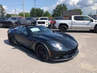Used 2019 Chevrolet Corvette Z06  - Aluminum Wheels for sale in Kemptville, ON