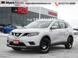 Used 2016 Nissan Rogue S  - Bluetooth -  SiriusXM for sale in Kanata, ON