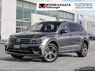 New 2019 Volkswagen Tiguan Highline 4MOTION  - Navigation for sale in Ottawa, ON