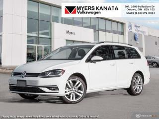 New 2019 Volkswagen Golf Sportwagen Execline DSG 4MOTION for sale in Kanata, ON