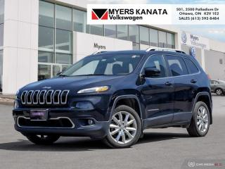 Used 2016 Jeep Cherokee Limited  - Leather Seats -  Bluetooth for sale in Kanata, ON