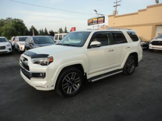 Used 2017 Toyota 4Runner Limited 4X4 Cuir Toit GPS 7 Pass for sale in Laval, QC