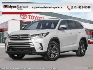 New 2019 Toyota Highlander Limited AWD  - Navigation - $320 B/W for sale in Ottawa, ON