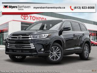 New 2019 Toyota Highlander XLE AWD  - Navigation -  Sunroof - $282 B/W for sale in Ottawa, ON