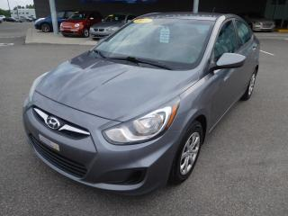 Used 2014 Hyundai Accent GL,A/C,CRUISE,BLUETOOTH,VITRES+PORTES ELEC for sale in Mirabel, QC
