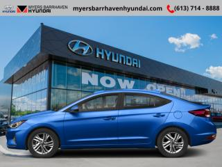 Used 2019 Hyundai Elantra Preferred w/sun and safety pkg  - $77.42 /Wk for sale in Nepean, ON