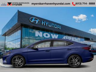 New 2019 Hyundai Elantra Sport MT  - Sunroof -  Leather Seats - $83.01 /Wk for sale in Ottawa, ON