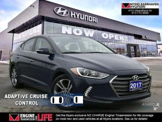 Used 2017 Hyundai Elantra Limited Ultimate  - Navigation - $79.30 /Wk for sale in Ottawa, ON