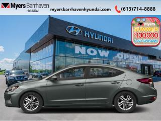 New 2020 Hyundai Elantra Essential IVT  - Fuel Efficient - $124 B/W for sale in Nepean, ON