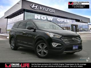 Used 2016 Hyundai Santa Fe XL Luxury  - Sunroof -  Leather Seats - $115.11 /Wk for sale in Nepean, ON