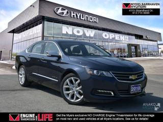 Used 2018 Chevrolet Impala Premier  - Non-smoker - Local - $115.79 /Wk for sale in Ottawa, ON
