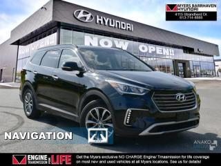 Used 2017 Hyundai Santa Fe XL Luxury  - Leather Seats - $110.58 /Wk for sale in Ottawa, ON