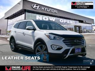 Used 2016 Hyundai Santa Fe XL Luxury  - Sunroof -  Leather Seats - $121.00 /Wk for sale in Ottawa, ON