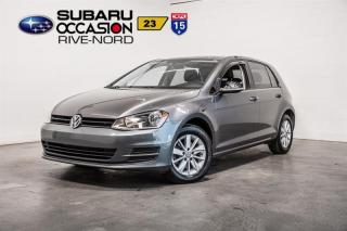Used 2016 Volkswagen Golf 1.8 TSI Trendline SIEGES.CHAUFFANTS+CAM.RECUL for sale in Boisbriand, QC