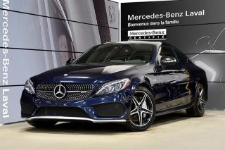 Used 2017 Mercedes-Benz C43 AMG 4MATIC Coupe for sale in Laval, QC