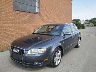 Used 2006 Audi A4 3.2L/NO ACCIDENTS/ LEATHER, ROOF/ for sale in Oakville, ON