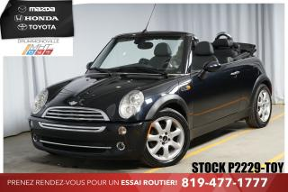 Used 2007 MINI Cooper CONVERTIBLE **IMMACULÉE!!** for sale in Drummondville, QC