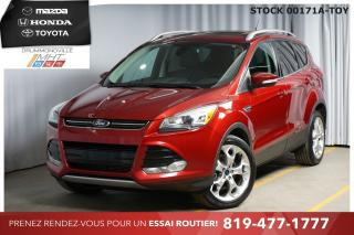 Used 2014 Ford Escape TITANIUM PANORAMIQUE|HAYON MAINS LIBRES for sale in Drummondville, QC